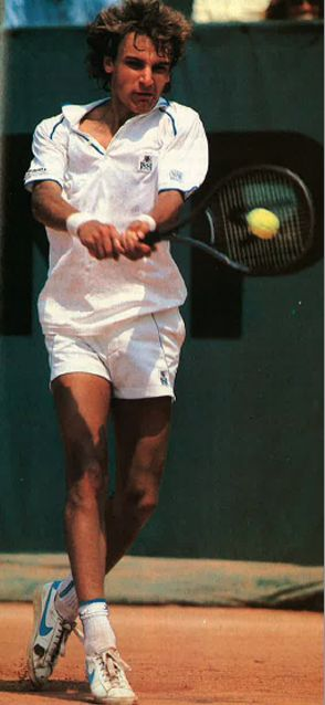 Karl says that he's never grown up with anything different, so he never really thought much about the fact that his father is, well, Mats Wilander.