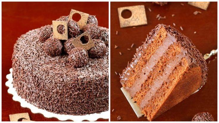 "Бразильський торт ""Брігадейро"" : Ням ням за 5 хвилин"