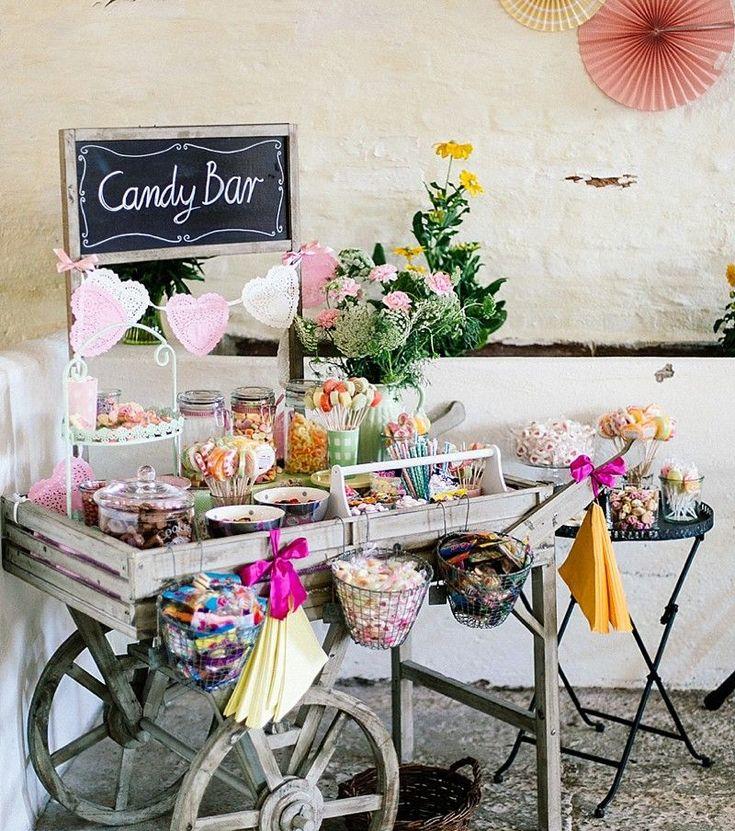 De beste ideeën voor een eetcafé voor een bruiloft