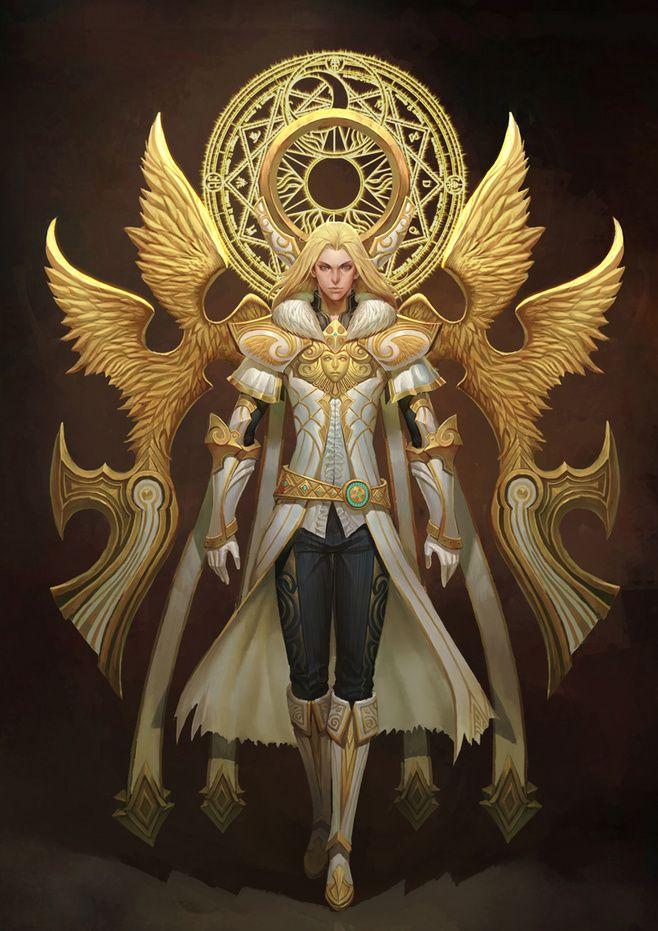 509 best Angel Armies images on Pinterest | Archangel ...