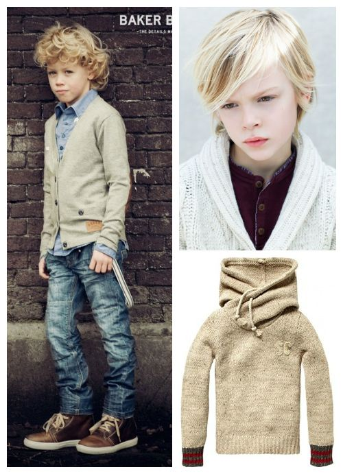 bliss blog - wee wednesday with jennifer: boys, sweaters & denim