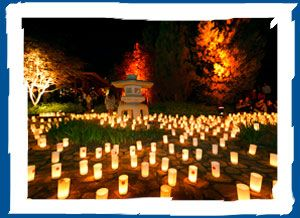 Canberra Nara Candle Festival 2012 - Sat 26 oct 4:30-9pm