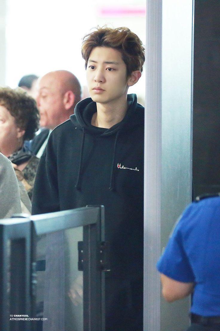 170426 JFK Airport #Chanyeol #EXO