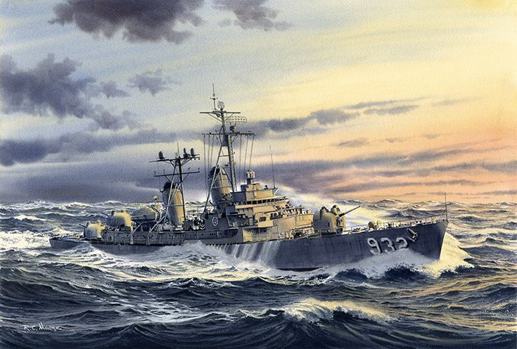 Uss john paul jones battleship