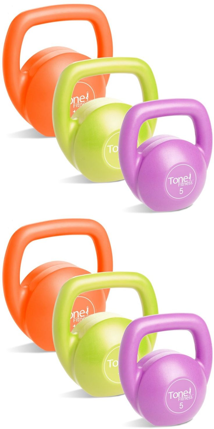 Kettlebells 179814: Tone Fitness Sdkc2s-Tn030-4 Vinyl Kettlebell Set, 30 Lb Set -> BUY IT NOW ONLY: $37.27 on eBay!