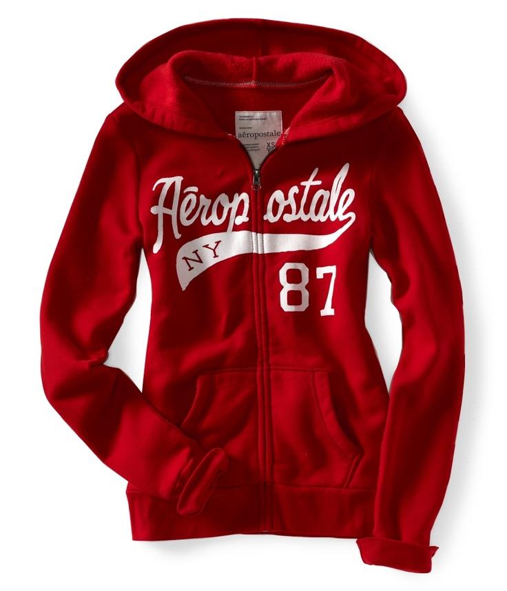 aero ny87 sport fullzip hoodie aeropostale my style