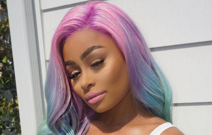 Blac Chyna's New Unicorn Hair Is Magical AF — But Her Real Hair Is Even More Stunning