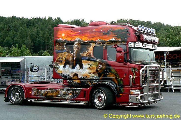 Girl power airbrushed show truck - Google zoeken | stoer ...