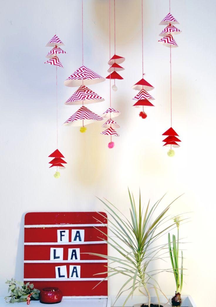 Holiday DIY: Hanging Danish Bells   www.homeology.co.za