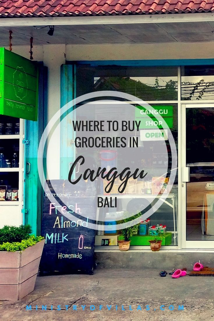Surfers, rice paddies and unlimited smoothie bowls... Yep, Canggu is the coolest neighbourhood in Bali. Check out our guide for shopping in Canggu - find out where you can buy groceries in Canggu and a few of the best supermarkets in Bali.