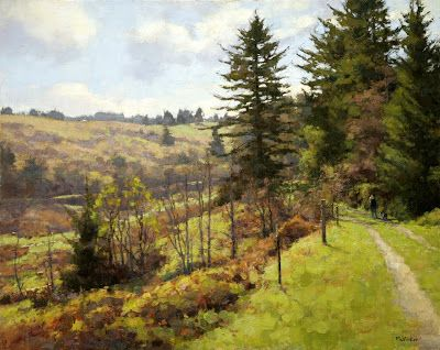 Jim McVicker Paintings: 'Winter and Spring 2013 Plein Air ...