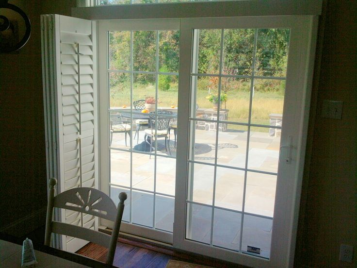 Plantation Shutters, For Sliding Doors