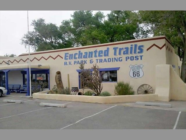 Welcome To Enchanted Trails RV Park Trading Post