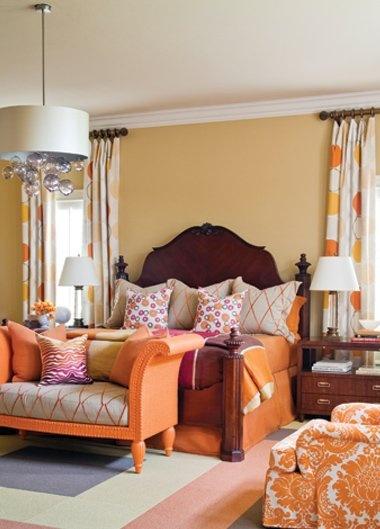 Best Color Schemes Images On Pinterest Bedrooms Color - Light orange bedroom walls