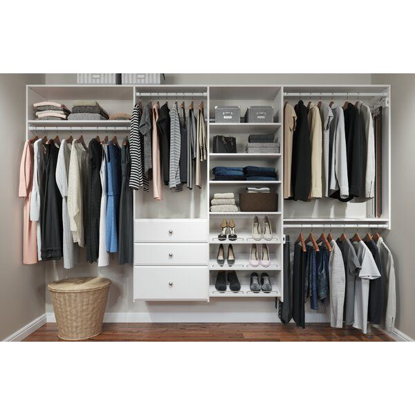This Dual Tower Closet Kit Is Easy Organization At Your Fingertips