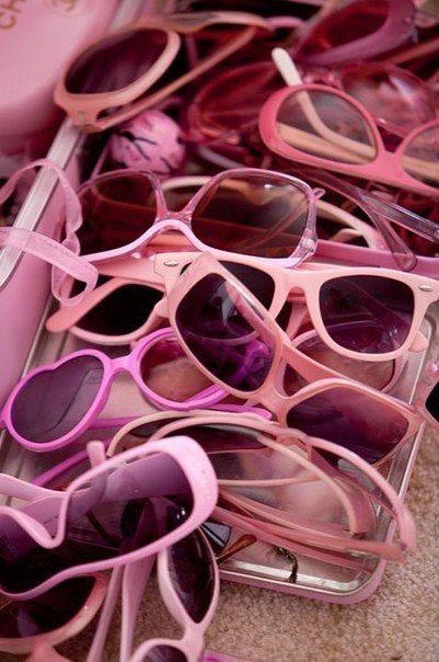 Pink sun..
