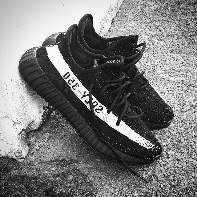 #YEEZYBOOST 350 V2 by @KanyeWest. Core Black / Core White, coming December  17th. 1. FOLLOW US on instagram At 00.00 go on our IG  Link in the Bio 2.