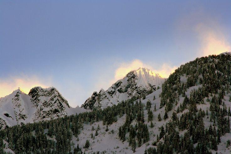 Tormenta sulle #Orobie Valtellinesi in una fredda giornata di fine Febbraio 2014.