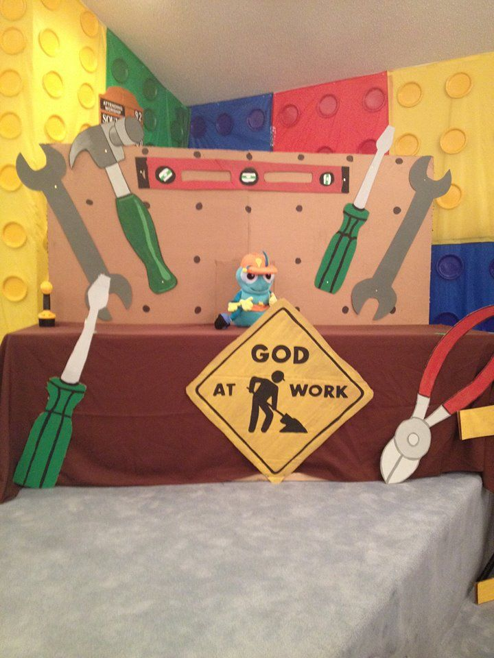 WOW VBS at the Rock Mills Church of the Nazarene in Roanoke, Al! www.cokesburyvbs.com