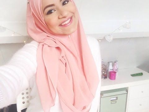 Hijab tutorial for spring and summer! - YouTube