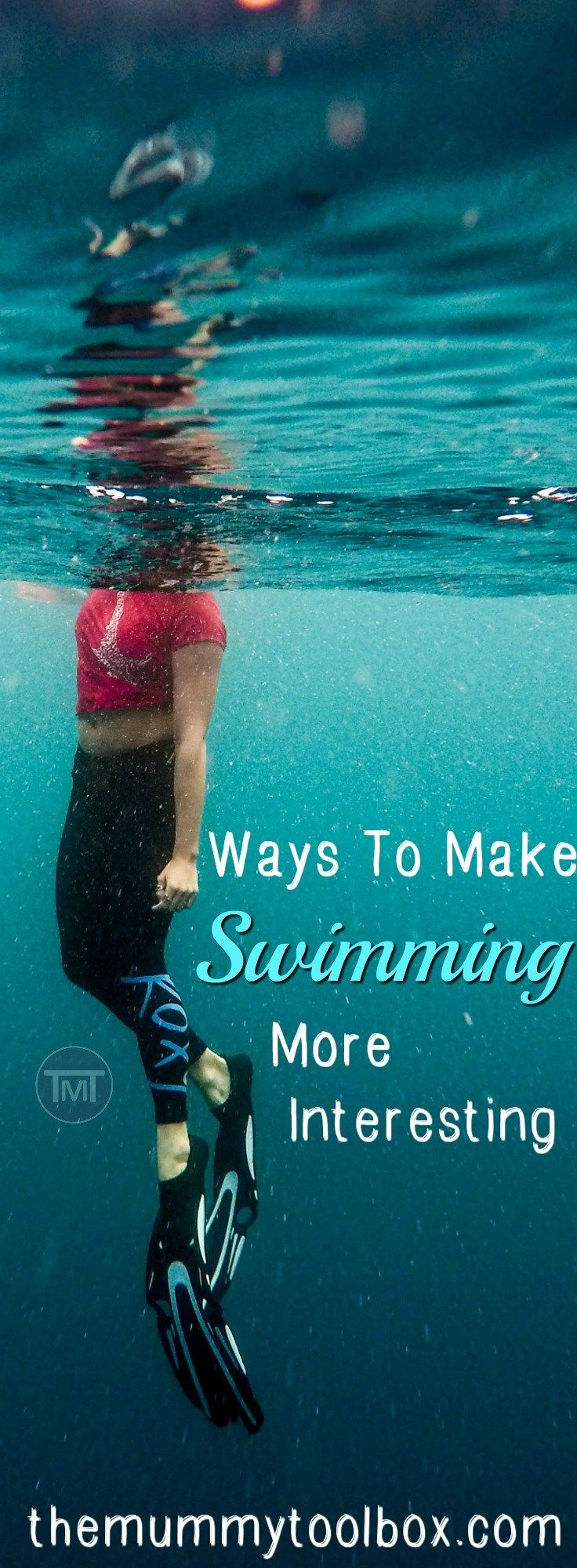 Swimming can be boring, especially if you are doing any sort of distance for a full workout. Here are the ways to keep it interesting, keep motivation and a varied workout to avoid losing progress!