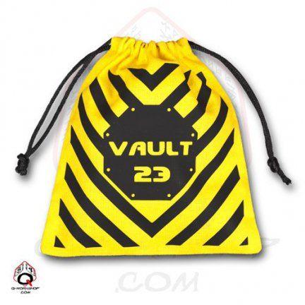 Vault yellow dice bag