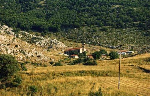 St. George Church in Kristalopigi (Smurdesh) Greece