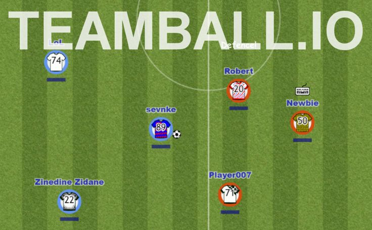 Play Teamball.io in full screen! Teamball.io is a brand new soccer MMO game! Control your player and find a football field to join a match. Play with thousan...