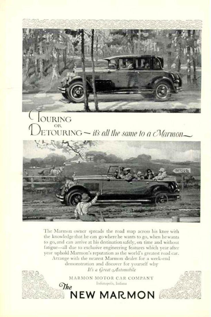 1926 marmon ad 733 1100