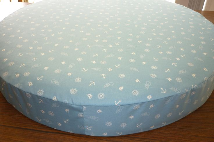 Round custom made bassinet sheet