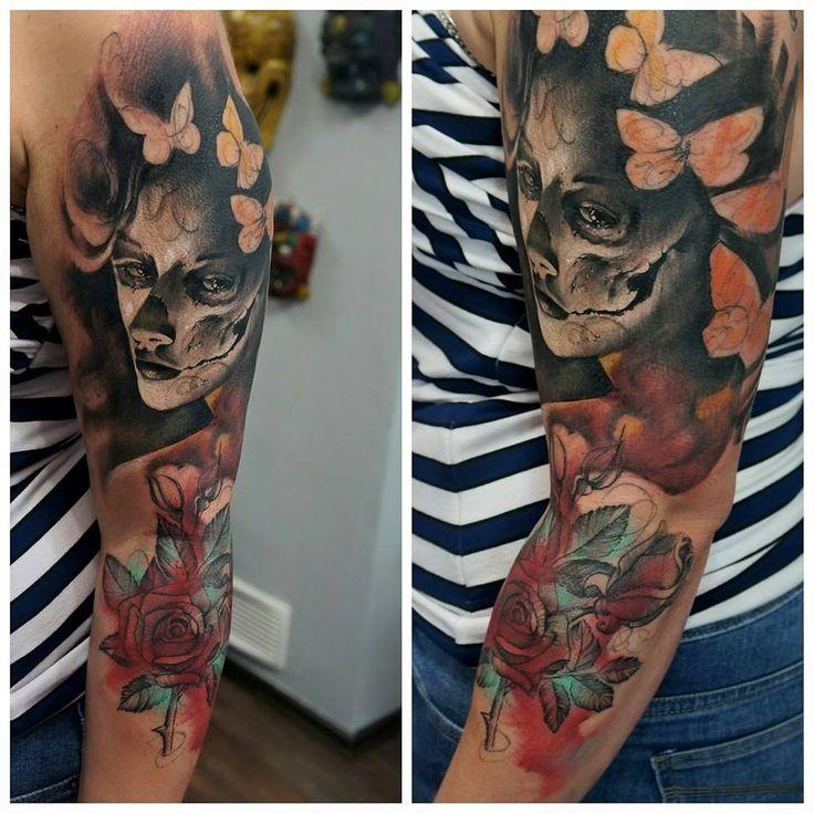 catrina tattoo wiesbaden