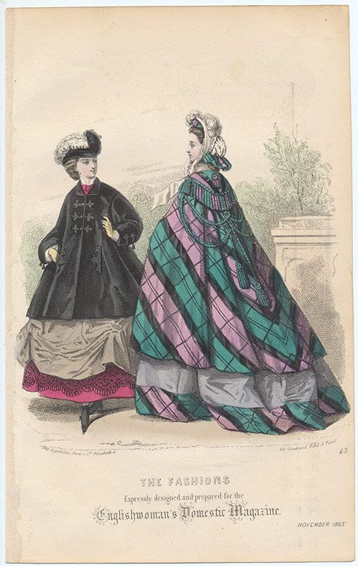 1863 Englishwoman's Domestic Magazine