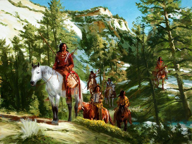 Jim Carson Ec81356236da9c51e0e267a9223a489c--american-indians-american-art