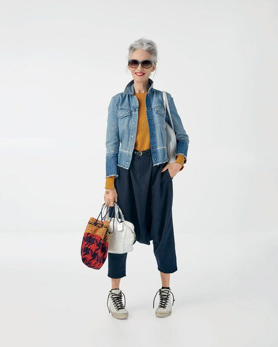 """""""Unless it's 5 in the morning, I'm wearing red lipstick to the airport."""" - Linda Rodin http://www.cntraveler.com/stories/2015-11-10/linda-rodin-packing-tips-and-travel-outfit"""
