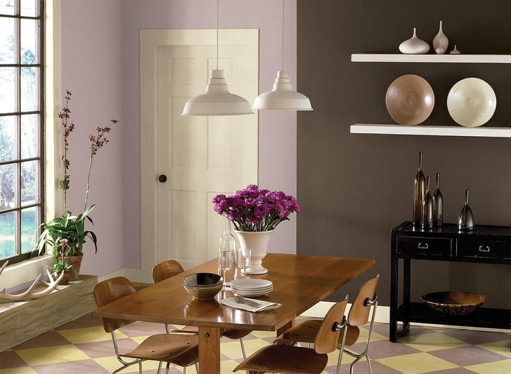 1000 Ideas About Purple Dining Rooms On Pinterest Plum Walls Dining Room Colors And Purple Walls