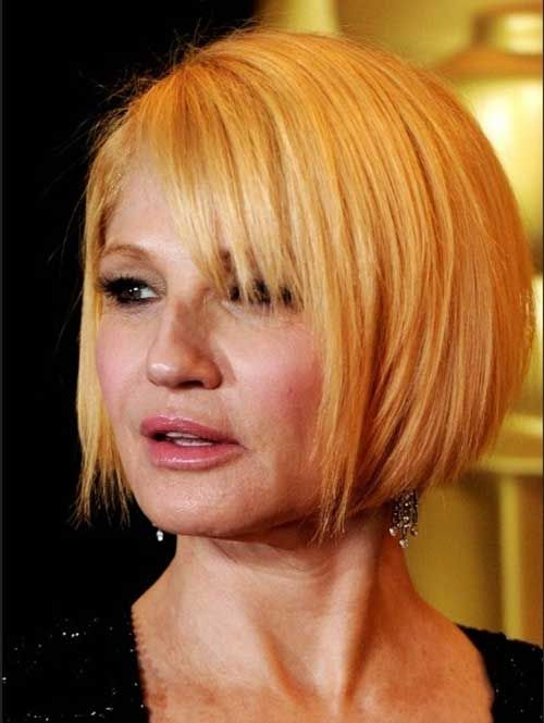 Short Bob Hairstyles Over 50