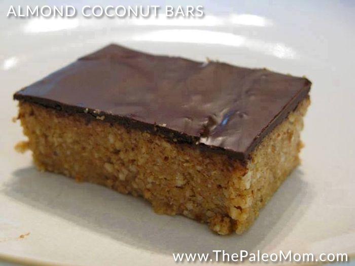 Almond Coconut Bars