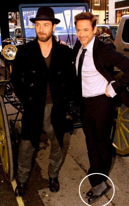 Robert Downey Jr Height Increasing Elevator Boot