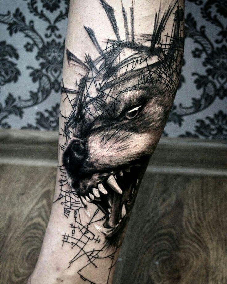 #wolf #tattoo
