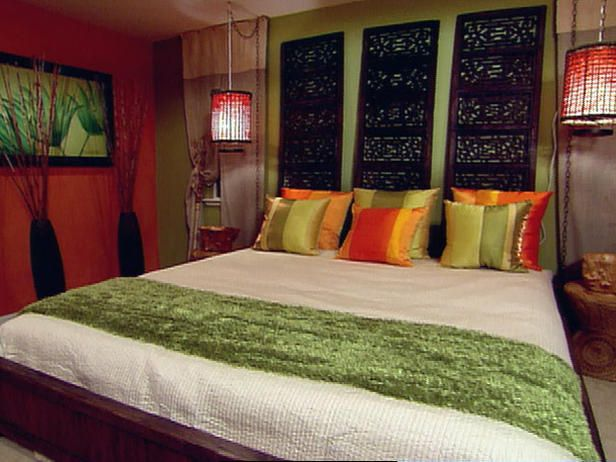 Balinese Master Bedroom : Archive : Home & Garden Television