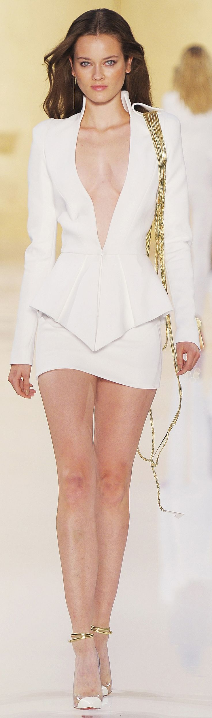 ✜ Alexandre Vautier Haute Couture FW 2013 ✜ http://www.vogue.it/en/shows/show/haute-couture-fall-winter-2012/alexandre-vauthier/collection/493993