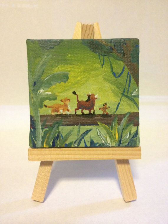 easy miniature paintings - photo #34