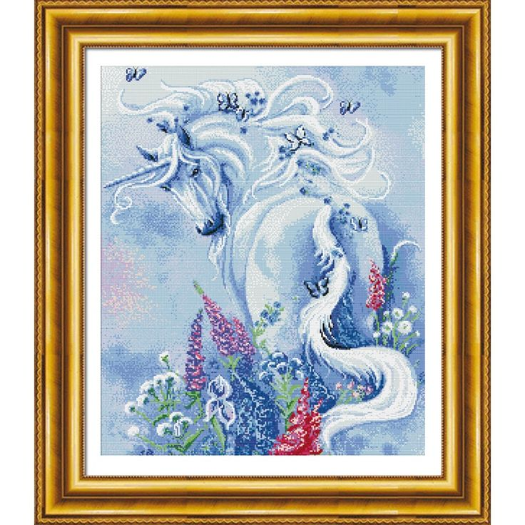 The unicorn is on behalf of the mysterious and pure.You can contact me if you like it