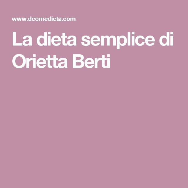 La dieta semplice di Orietta Berti
