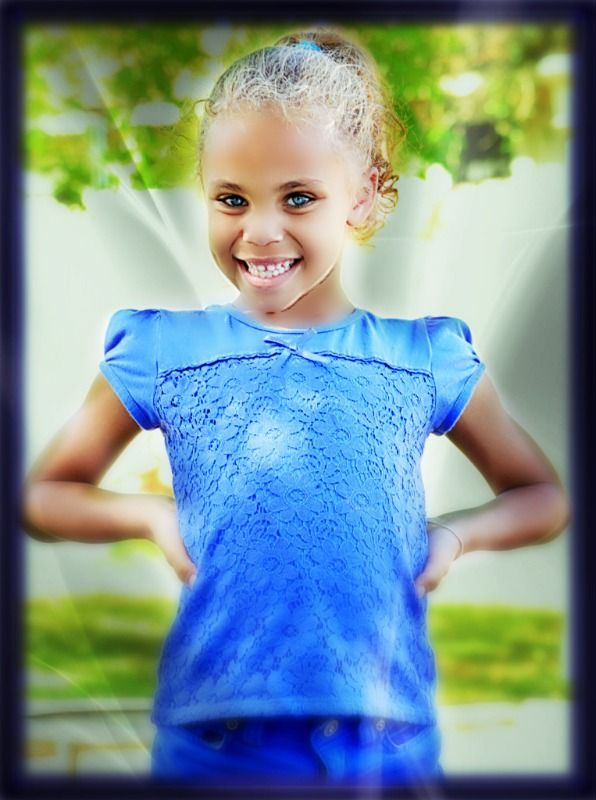 7 yrs old coming up July 24. Daughter Kassidy glowing with joy as always!!