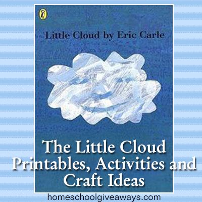 The Little Cloud Printables, Activities and Craft Ideas | Homeschool Giveaways