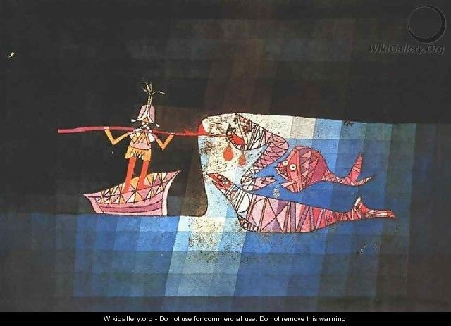 Sinbad the Sailor - Paul Klee