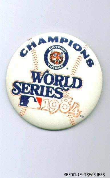Detroit Tigers: 1984 Champs!