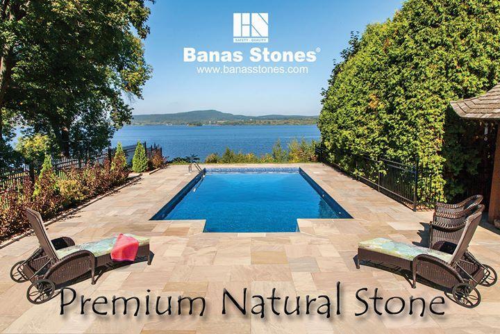 Banas Stones Premium Natural Stone  #wallstone #pavers #coping #granite #piercaps #jumboslabs #naturalstone