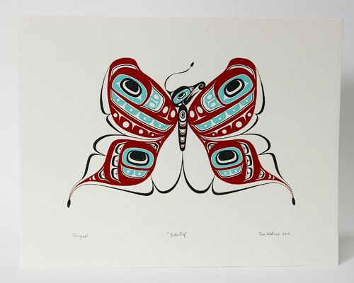 term paper haida art Watercolor and black ink on paper,  this long term installation opens to the public on october  including northwest coast (haida, tlingit, and tsimshian),.